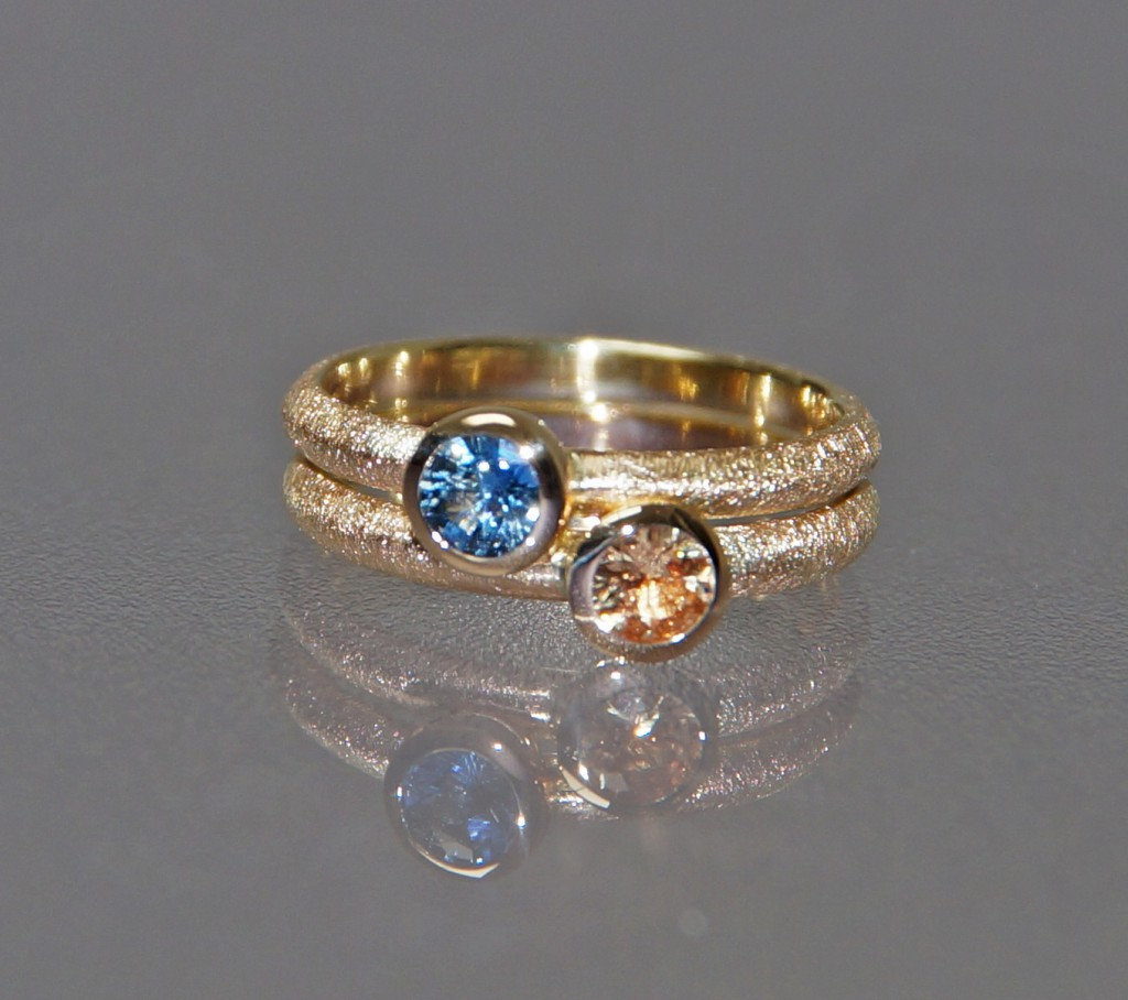 Stackable Sapphire Rings